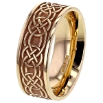 Celtic Knot Gold ring_1