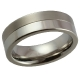 Plain Titanium Ring_56